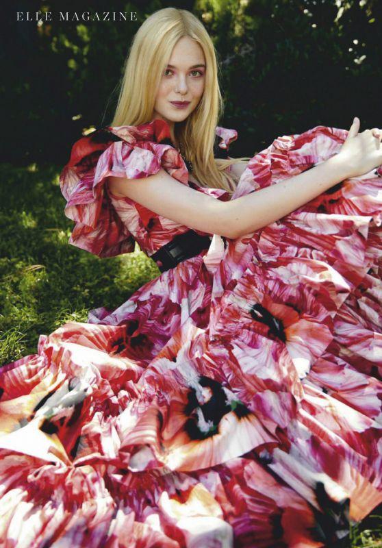 Elle Fanning - ELLE Spain June 2020 Issue