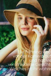 Elle Fanning - Glamour Magazine Germany June 2020 Issue