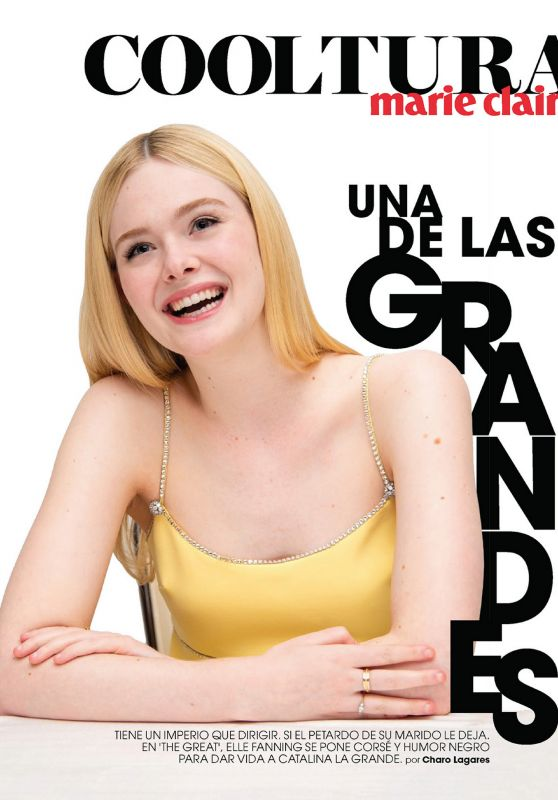 Elle Fanning - Marie Claire Spain June 2020 Issue
