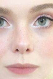 Elle Fanning - Social Media Pics and Video 05/29/2020