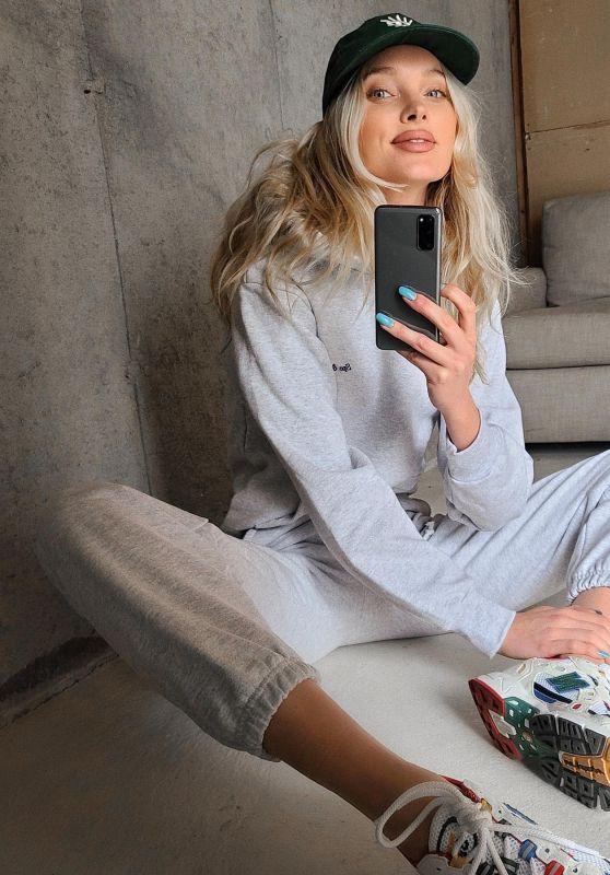 Elsa Hosk - Social Media 05/04/2020