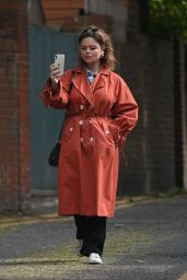 Emily Atack - Out in London 05/12/2020