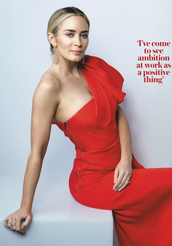 Emily Blunt - Woman & Home South Africa June 2020 Issue
