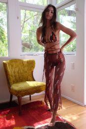 Emily Ratajkowski - Inamorata Women The Mesh Collection April/May 2020