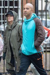 Emma Bunton and Jade Jones - Leaving Keith Lemons House in London 05/12/2020