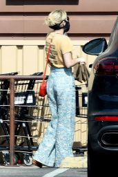Emma Roberts - Grocery Shopping in LA 05/12/2020
