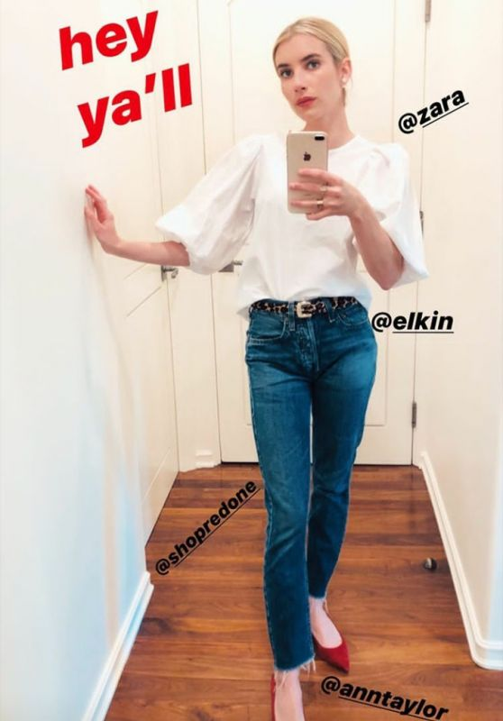 Emma Roberts Outfit 05/11/2020
