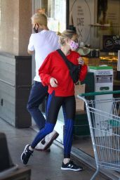 Emma Roberts - Shopping at Erewhon Market in West Hollywood 05/22/2020