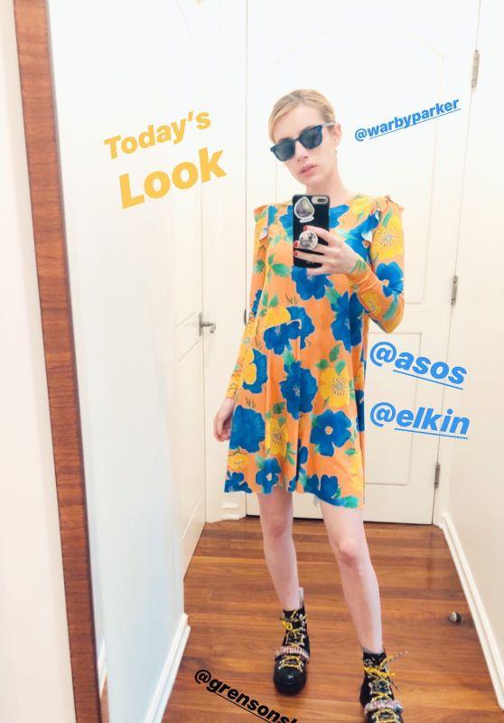 Emma Roberts Style 04/30/2020