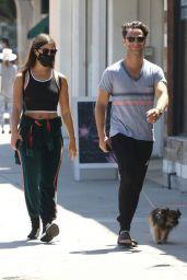 Emma Slater and Sasha Farber - Out in LA 05/27/2020