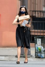 Famke Janssen - Out in NYC 05/26/2020