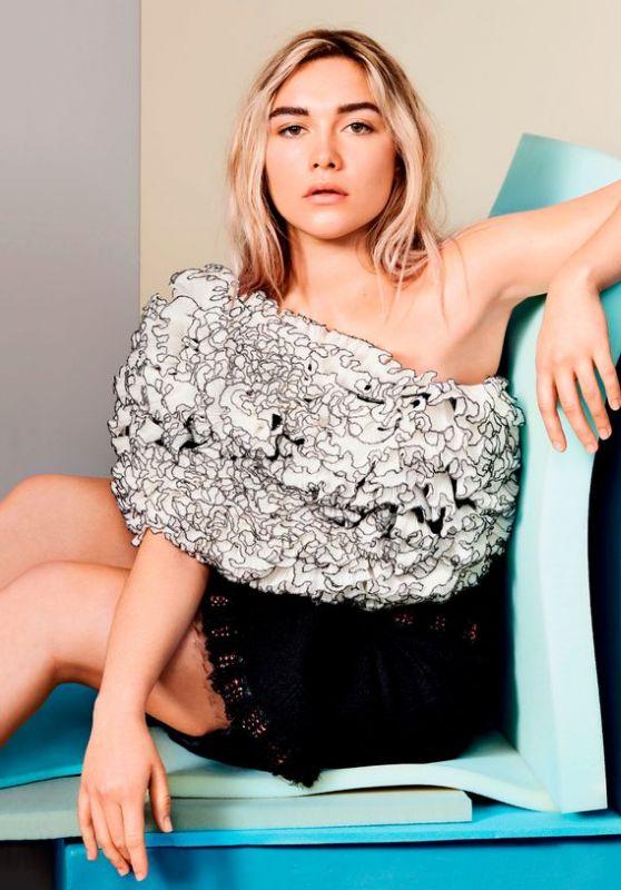 Florence Pugh - ELLE Magazine UK June 2020 Issue