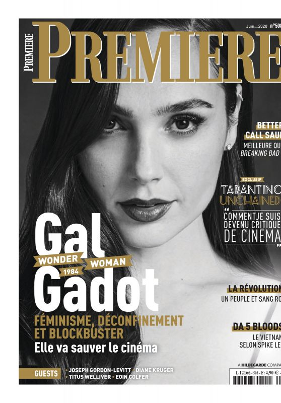 Gal Gadot - Premiere Magazine France June 2020 Issue