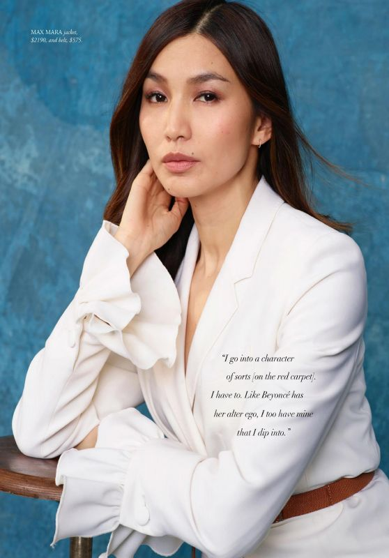 Gemma Chan – Harper's Bazaar Australia June/July 2020 Issue