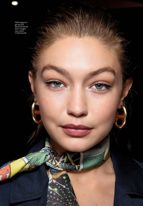 Gigi Hadid - InStyle Magazine Germany March 2020 Issue
