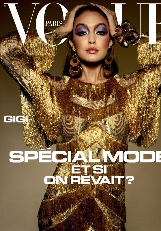Gigi Hadid - Vogue Paris May/June 2020 Cover