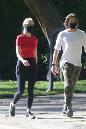 Gwyneth Paltrow - Stroll With Husband Brad Falchuk in Pacific Palisades 05/02/2020