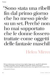 Helen Mirren - Io Donna del Corriere Della Sera 05/03/2020 Issue