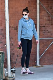 Hilary Rhoda - Walking Her Dogs in NY 05/21/2020