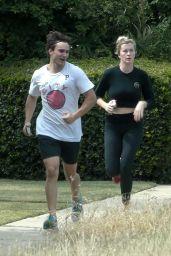 Ireland Baldwin - Jogging Near Her Home in LA 05/30/2020