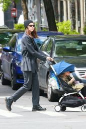 Irina Shayk - Out For a Stroll in NY 05/07/2020