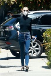 Jamie King in Casual Outfit 05/19/2020