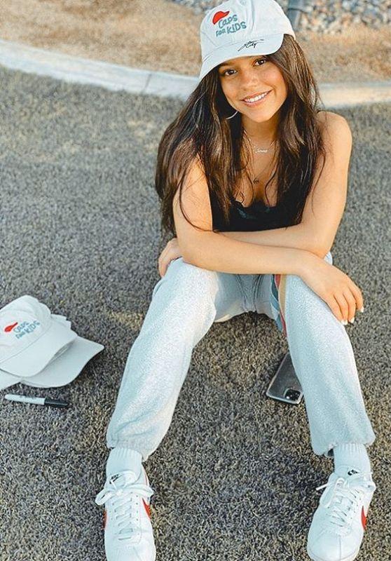 Jenna Ortega - Social Media 05/08/2020