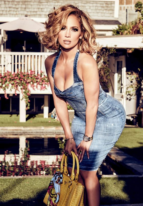 Jennifer Lopez Outfit – Guess Spring Summer 2020 Campaign (II)