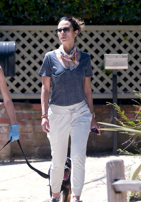 Jordana Brewster - Out in LA 04/29/2020