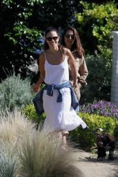 Jordana Brewster - Out in Pacific Palisades 05/24/2020