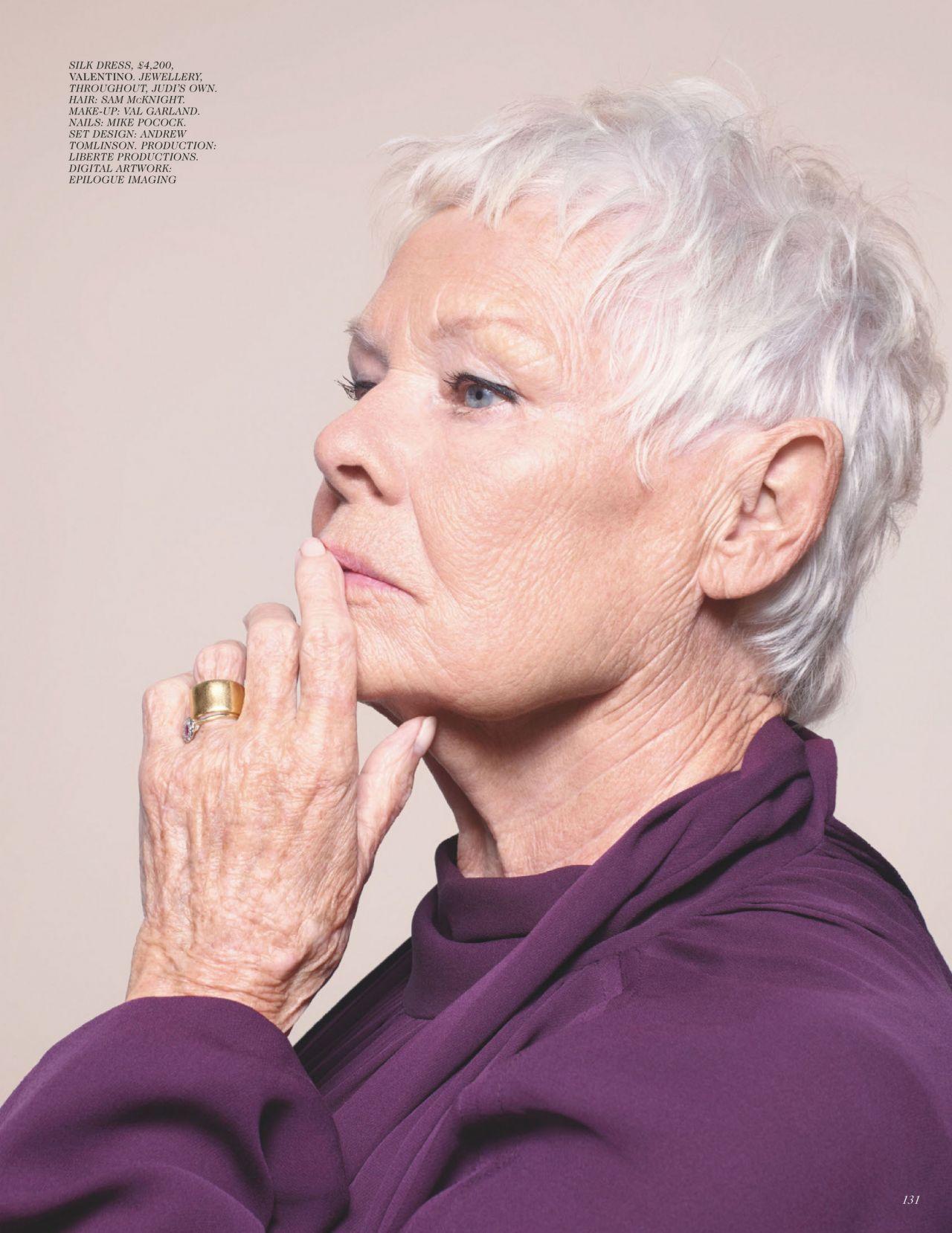 Judi Dench \u2013 Vogue UK June 2020 Issue