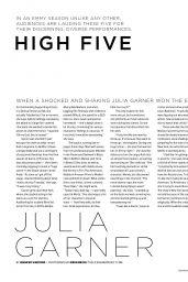 Julia Garner - Emmy Magazine May 2020 Issue