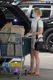 Julia Garner - Shopping in Studio City, April 2020