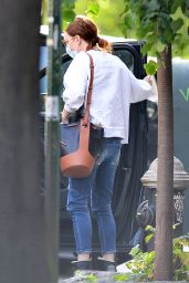 Julianne Moore - Outside Her Home in NY 05/20/2020