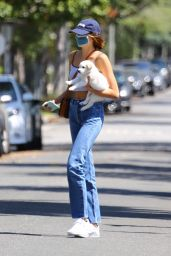 Kaia Gerber and Cindy Crawford - Out in Santa Monica 05/03/2020