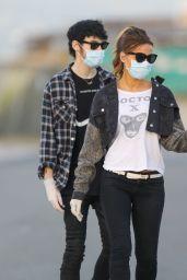 Kate Beckinsale With Her Boyfriend - Malibu 05/15/2020