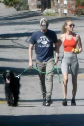 Kate Bosworth in Skintight Activewear 05/25/2020