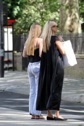 Kate Moss & Lila Grace Moss - Out in London 05/28/2020