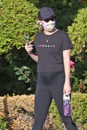 Katherine Schwarzenegger Chats On Her Phone - Santa Monica 05/13/2020