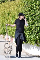 Katherine Schwarzenegger - Walking Her Dog in Brentwood 05/02/2020