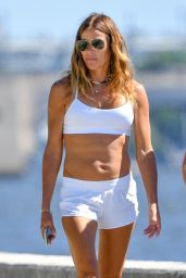 Kelly Bensimon With Her Daughter in Palm Beach 05/01/2020