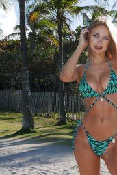 Kimberley Garner Bikini Photoshoot - Waterfall Collection 2020