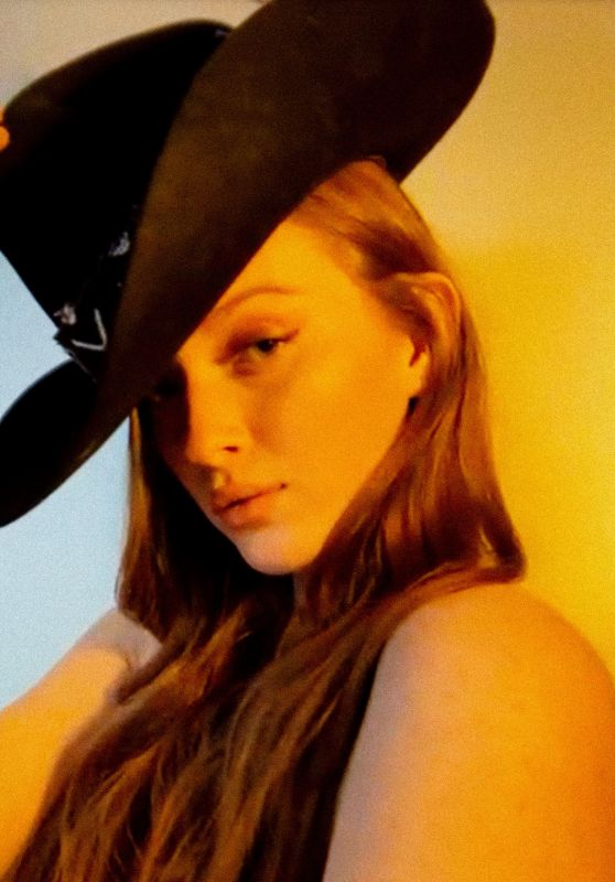 Larsen Thompson - Love Magazine Facetime Photoshoot May 2020