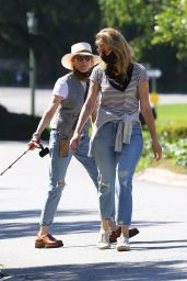 Laura Dern in Street Outfit - Pacific Palisades 05/15/2020