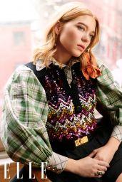 Lea Seydoux - ELLE China April 2020 Issue