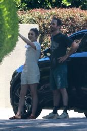 Lily Collins and Charlie McDowell  - Out in Los Feliz 05/05/2020