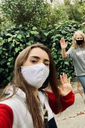 Lily Collins - Personal Pics 05/11/2020