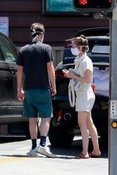 Lily Collins - Shopping in Los Feliz 05/05/2020