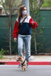 Lily Collins Street Style 04/29/2020