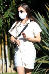 Lily Collins - Stroll in Beverly Hills 05/07/2020